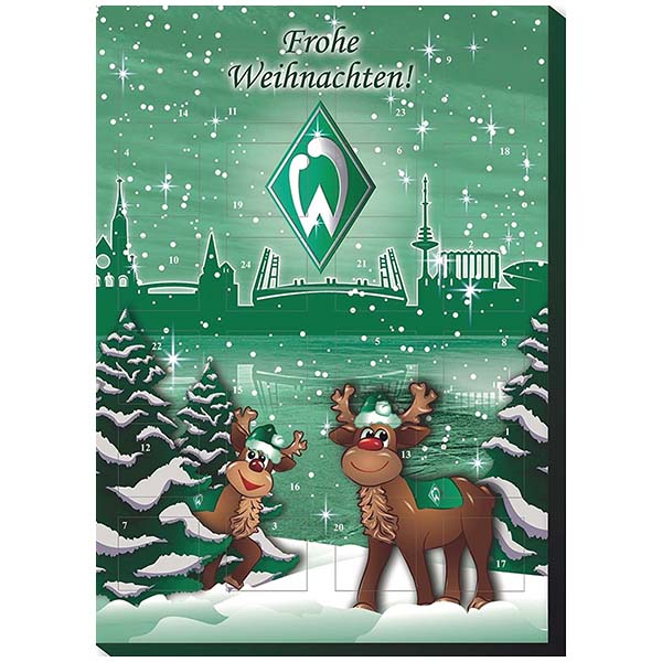 sv werder bremen adventskalender 2016 hans p hls gmbh. Black Bedroom Furniture Sets. Home Design Ideas