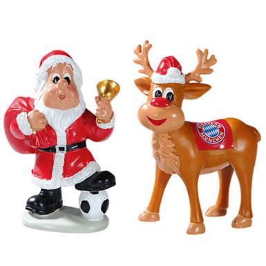 FC Bayern München Weihnachtsfiguren