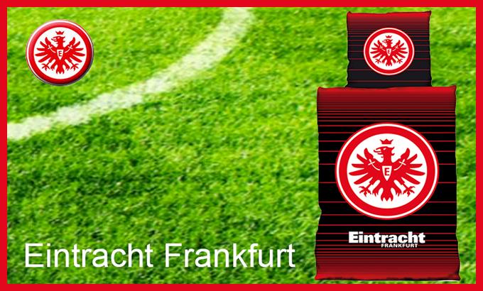 Eintracht Frankfurt Bettwaesche Linien Hans Pöhls Gmbh