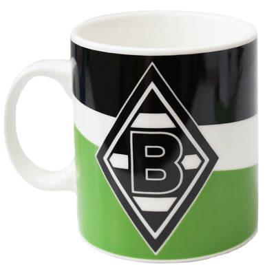 Borussia Mönchengladbach Tasse Schrägstreifen