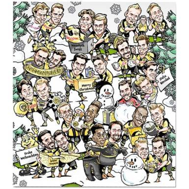 BVB Adventskalender 2016