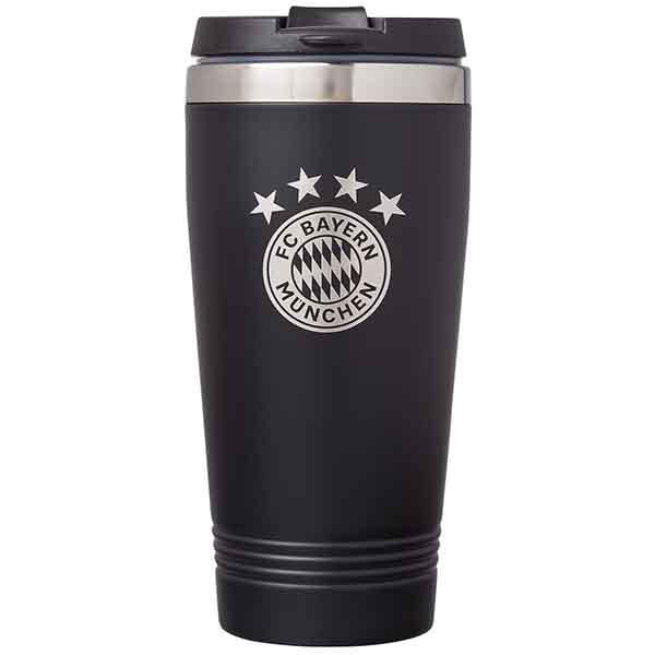 FC Bayern München Thermobecher schwarz