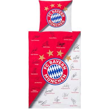 FC Bayern München Bettwäsche Signature